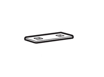 853033302 - Thule part - Square plate